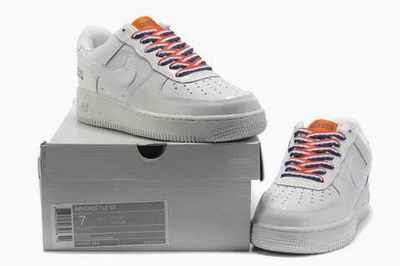 air force one nike blanche