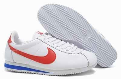 Nike Cortez Blanc Cuir